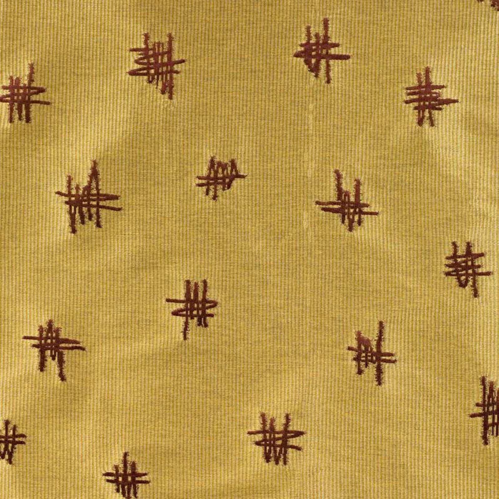 ERASMUS COORDINATE BROCATEL 03852 des 9-4098 col 83 RED GOLD фото