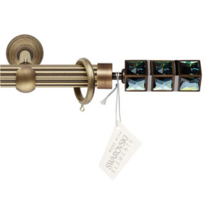 Металлический карниз Орион цвет бронза фото