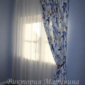 Шторы в спальную комнату на заказ фото-134