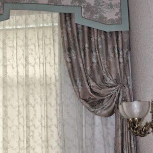 Шторы в спальную комнату на заказ фото-151