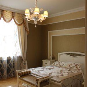 Шторы в спальную комнату на заказ фото-174
