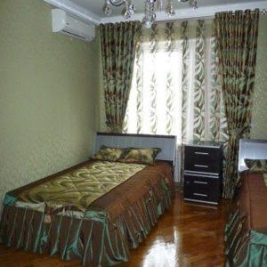 Шторы в спальную комнату на заказ фото-216