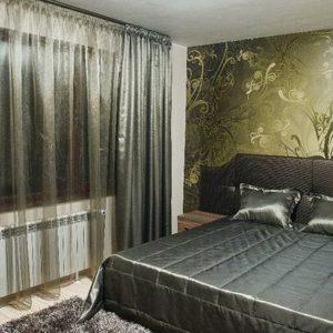 Шторы в спальную комнату на заказ фото-227