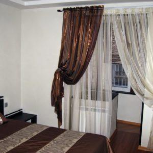 Шторы для спальни на заказ фото-248