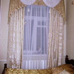 Шторы для спальни на заказ фото-251