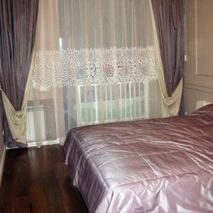 Шторы для спальни на заказ фото-253