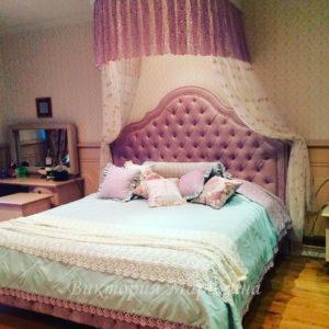 Шторы в спальную комнату на заказ фото-31